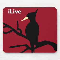 Mousepad with iLive design
