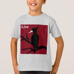 Kids' Hanes TAGLESS® T-Shirt with iLive design