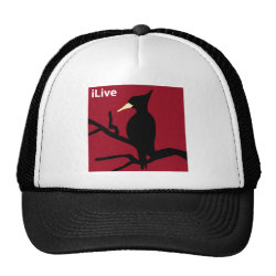 Trucker Hat with iLive design