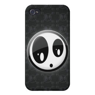 IC3D DESIGN -  LOGO + PATTERN COVER FOR iPhone 4