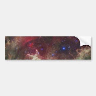 IC 1848 Soul Nebula star forming Bumper Sticker