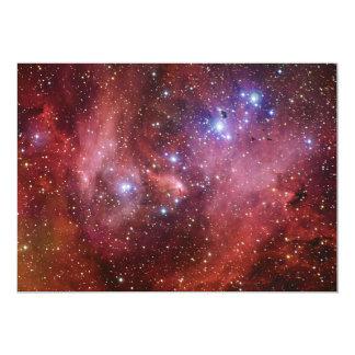 IC 2944 Running Chicken Nebula Lambda Cen Nebula 5x7 Paper Invitation Card