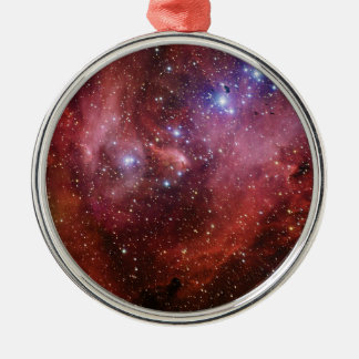 IC 2944 Running Chicken Nebula Lambda Cen Nebula Metal Ornament