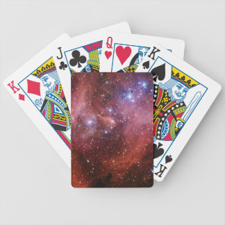 IC 2944 Running Chicken Nebula Lambda Cen Nebula Bicycle Poker Cards