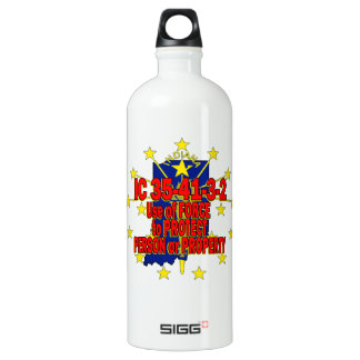 IC 35-41-3-2 STAND YOUR GROUND INDIANA WATER BOTTLE