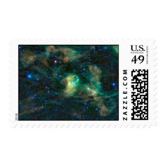 IC 4601 Nebula Postage Stamp