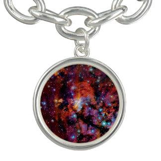 IC 4628 Prawn Nebula Charm Bracelets