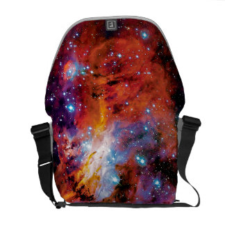 IC 4628 Prawn Nebula - Colorful Outer Space Photo Courier Bag
