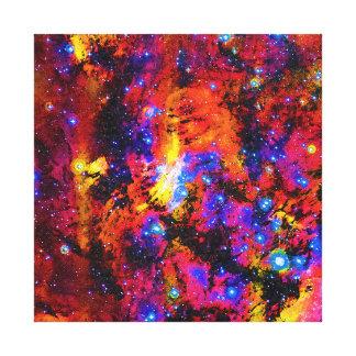 IC 4628 Prawn Nebula Modern Art Oil Painting Canvas Print