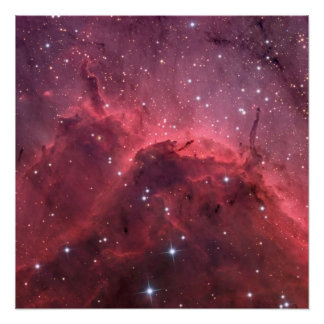 IC 5067: Emission Nebula Close-up Poster