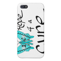 IC Butterfly Hope 4 a Cure iPhone SE/5/5s Case