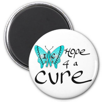 IC Butterfly Hope 4 a Cure Magnet