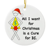 IC Christmas Wish Ornament