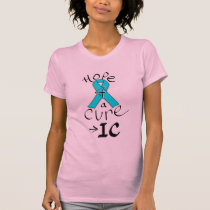 IC Hope 4 a Cure Script style T-Shirt