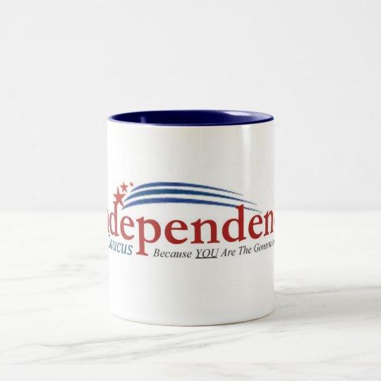 IC logo Two-Tone Coffee Mug