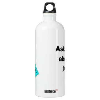 IC - We have HOPE ribbon Aluminum Water Bottle