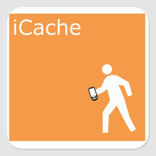 iCache Square Stickers