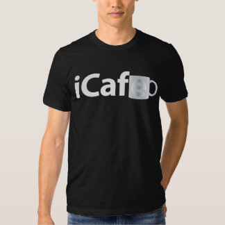 iCafe. White T-Shirt