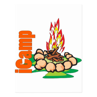 iCamp Camping Shirt Postcard