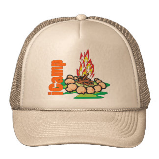 iCamp Camping Shirt Trucker Hat