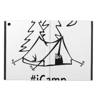#Icamp camping tent iPad Air Cover