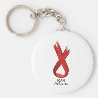 ICAN Atlanta Keychain
