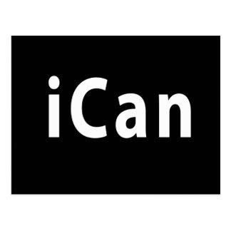 iCan - CUSTOMIZABLE Postcard