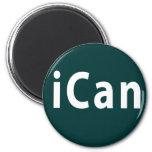 iCan - PERSONALIZABLE Imán Para Frigorífico