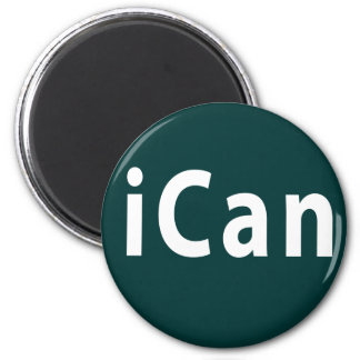 iCan - PERSONALIZABLE Imán Redondo 5 Cm