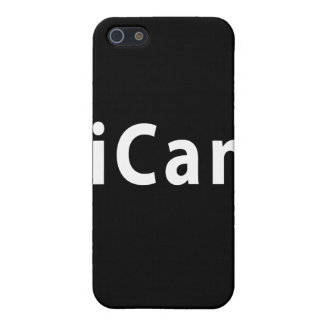 iCan - PERSONALIZABLE iPhone 5 Carcasa