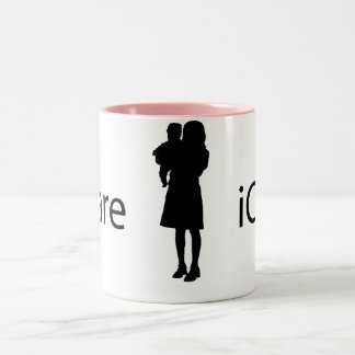 iCare Two-Tone Mug