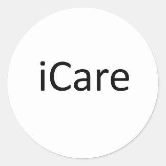 iCare Etiquetas Redondas