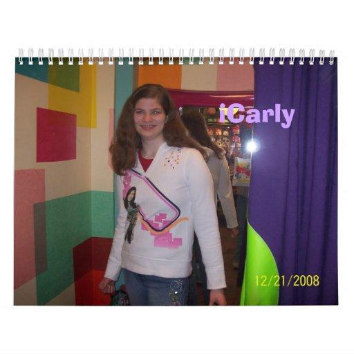 iCarly Calendar