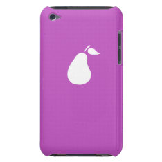 Icarly/ Victorious Pear Pod Fuschia Ipod Touch Case at Zazzle
