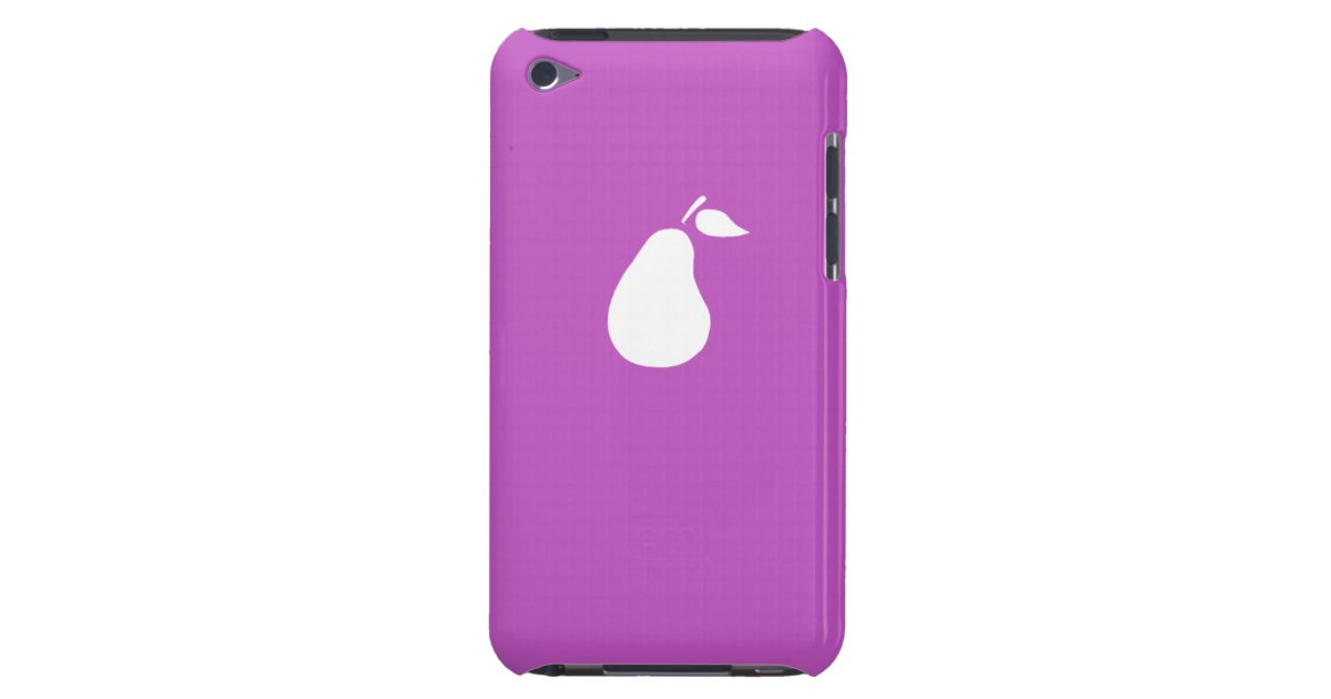 Icarly Victorious Pear Pod Fuschia Ipod Touch Case