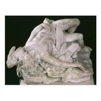 Icarus Falling, 1743 Postcard
