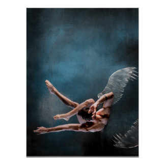 icarus falling poster