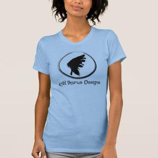 Icarus Logo Women's Two-fer Tshirts