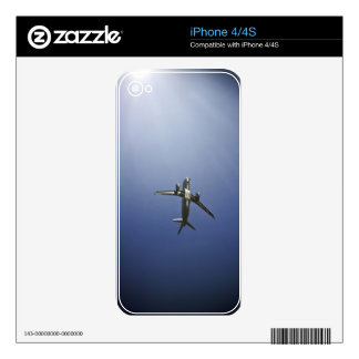 Icarus Soaring iPhone 4S Skins