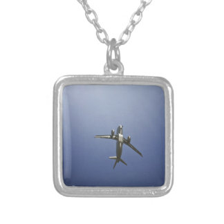 Icarus Soaring Silver Plated Necklace