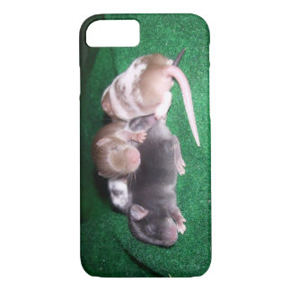 iCase: 4 Baby Mice iPhone 7 Case