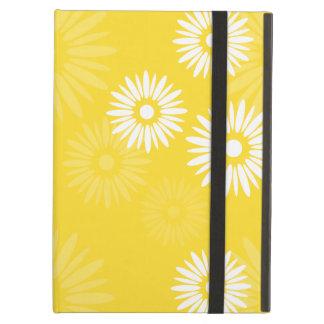 iCase amarillo de Powis de las flores del verano