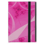 iCase rosado del fractal del extracto de la iPad Mini Cobertura