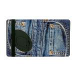 Icase viejo raído del bolsillo de los tejanos del  iPad funda