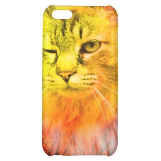 iCat case 2 iPhone 5C Covers