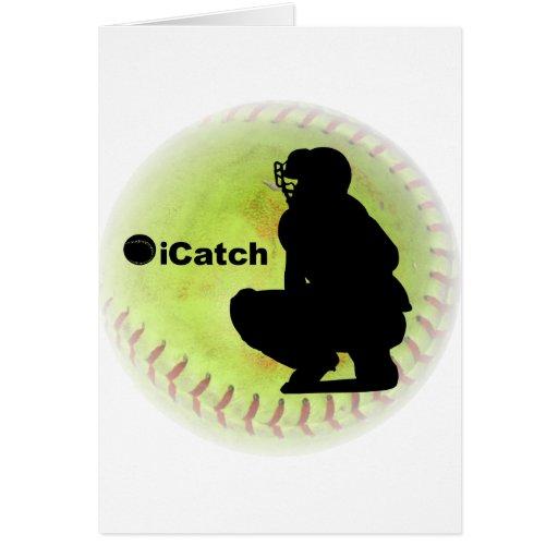 iCatch Fastpitch Softball Card