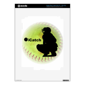 iCatch Fastpitch Softball Decal For iPad 3