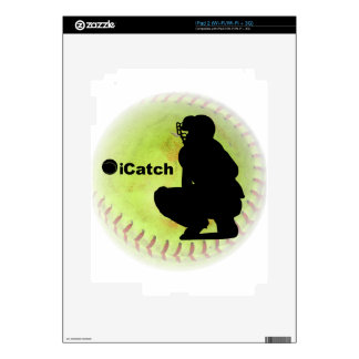 iCatch Fastpitch Softball Decals For iPad 2