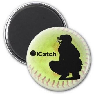 iCatch Fastpitch Softball 2 Inch Round Magnet