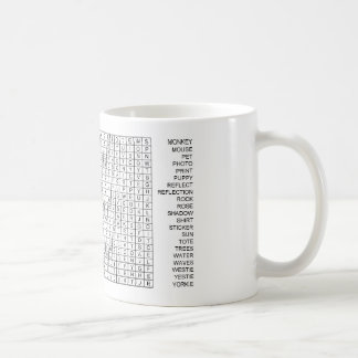 ICBIMProducts Word Search Classic White Coffee Mug